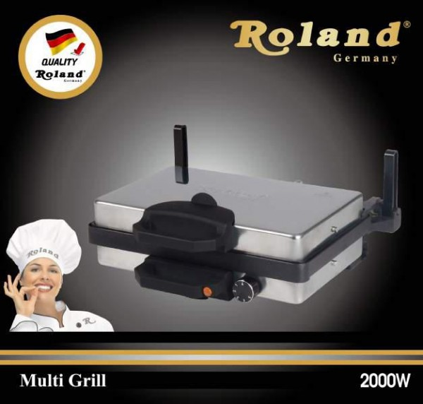 Roland Multigrill Teflon Kontaktgrill Grill