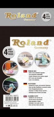 Roland 4x Putztücher