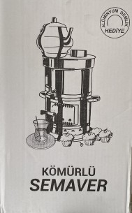 Kömürlü Semaver/ Holzkohle Samowar