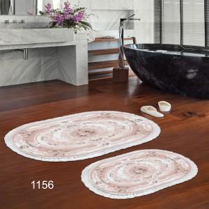 Badezimmerteppich 1156 Oval