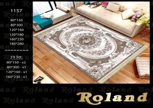 Roland 5er Teppich Set Waschbar 1157
