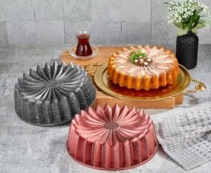 Kuchen Form R7 Grau