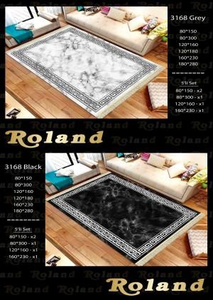 Roland 5er Teppich Set Waschbar 3168