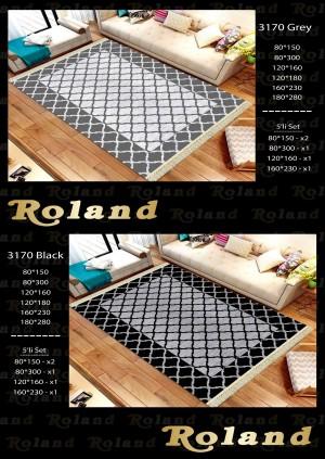 Roland 5er Teppich Set Waschbar 3170