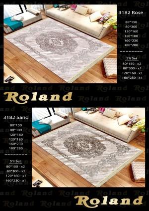 Roland 5er Teppich Set Waschbar 3182