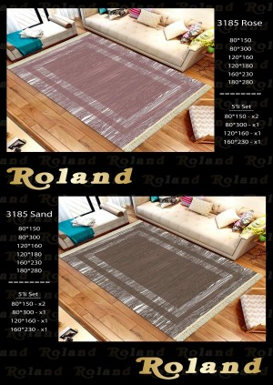 Roland 5er Teppich Set Waschbar 3185