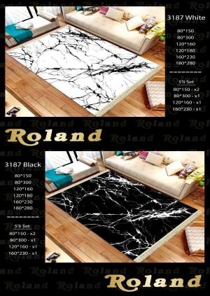 Roland 5er Teppich Set Waschbar 3187