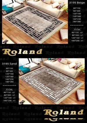 Roland 5er Teppich Set Waschbar 3195 Sand