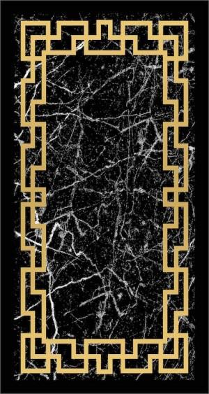 Roland 5er Teppich Set Waschbar 3214 Gold