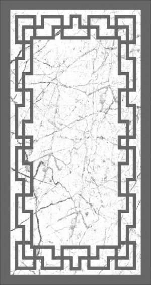 Roland 5er Teppich Set Waschbar 3214 Grey