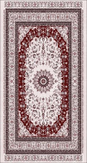 Roland 5er Teppich Set Waschbar 3295 Bordeaux