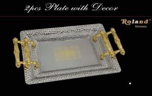 Tablet Set 2 tlg. Gold