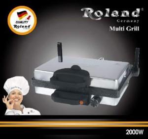 Roland Multigrill Granit + Kasserolle Granit