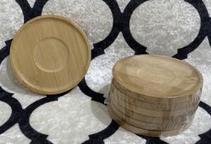 Bamboo Untersetzer 6 Stück