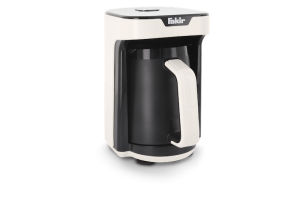 FAKIR Mokkamaschine KAAVE MONO 280ml One Touch Luminasense Technologie Weiß