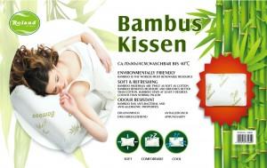 Bamboo Kissen Kopfkissen 70x50x14cm Waschbar bis 40°C