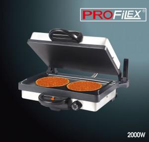 Profilex Multigrill Teflon Kontaktgrill Grill + Kasserolle